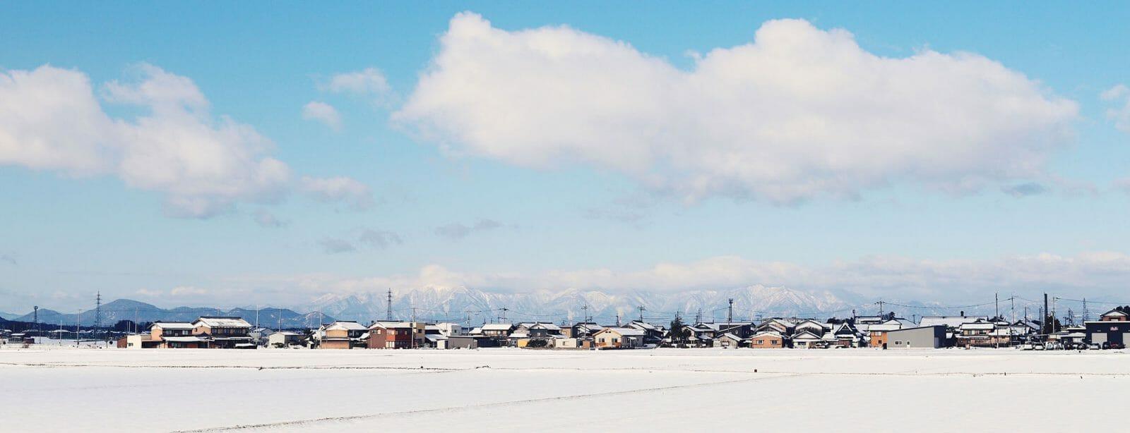 冬のソレプロの景色